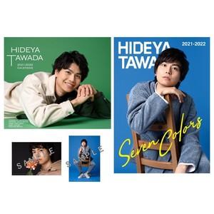 【テレビ電話参加券付】多和田任益カレンダー 2021-2022&フォトブック&ポストカードセット